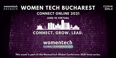 WomenTech Bucharest - Connect Online (Employer Tickets) tickets