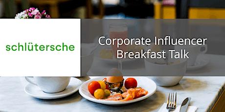 Corporate Influencer Breakfast Talk Tickets