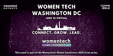 WomenTech Washingotn DC - Connect Online (Employer Tickets) tickets