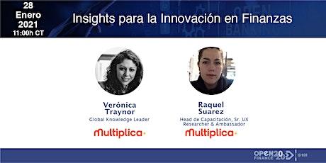Insights para la innovación en Finanzas entradas