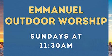 Emmanuel Episcopal  Outdoor Service - 1/24/21 tickets