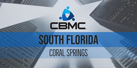 CBMC Coral Springs Meeting tickets