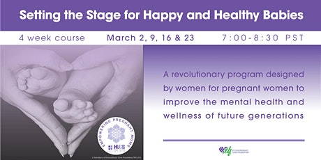 Setting the Stage for Happy and Healthy Babies tickets
