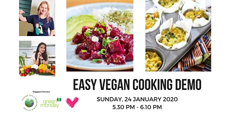 Easy Vegan Cooking Demo tickets