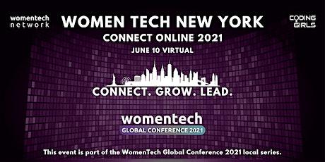 WomenTech New York - Connect Online (Employer Tickets) tickets