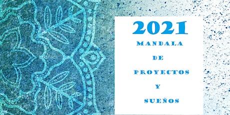 Mandala de Proyectos y Sueños 2021 entradas