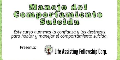 Taller Intervención del Suicidio. entradas
