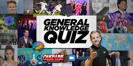 Interactive Virtual General Knowledge Quiz Live on Zoom with Carl Matthews tickets
