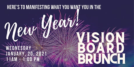 Free Virtual Vision Board tickets