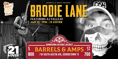 Brodie Lane (Featuring AJ Vallejo) tickets