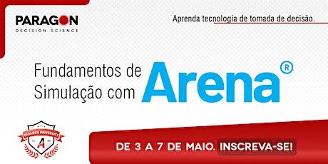 Treinamento Online: Fundamentos de Simulação com Arena - 03  a 07 de Maio bilhetes