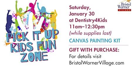 FREE Craft Kits With $20 Purchase At  Bristol Warner Village Kids Fun Zone tickets