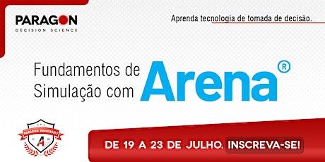 Treinamento Online: Fundamentos de Simulação com Arena - 19  a 23 de Julho ingressos