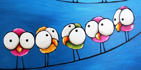 Parent and Me Paint Date-Birds on a Wire tickets