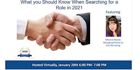 ISM-Houston January Career Services Meeting tickets