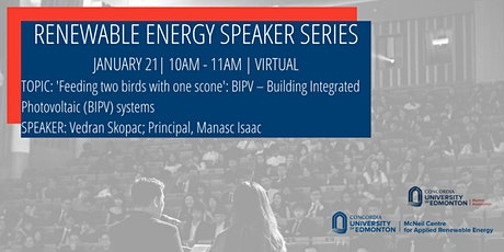 Renewable Energy Speaker Series tickets