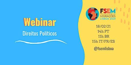FSEM Webinar III: Direitos Políticos ingressos