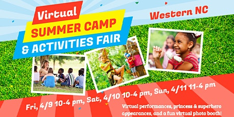 WNC Camp & Activities Fair (Virtual) tickets