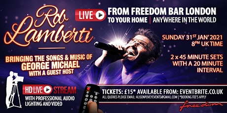 Rob Lamberti - Live from Freedom Bar London tickets