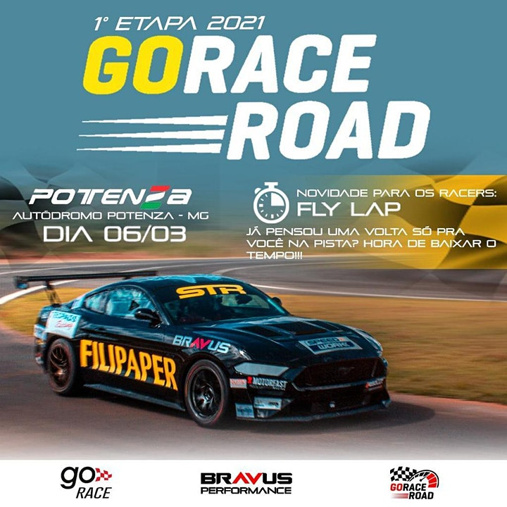 Imagem do evento Go Race Road 1ª Etapa 2021: Garage Car Wash Edition