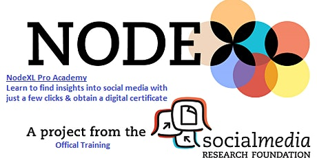 Social Network Analysis Using NodeXL (Intermediate Level) tickets