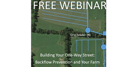 Building Your One-Way Street: Backflow Prevention and Your Farm. tickets