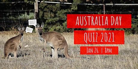 Aussies in Olso - Australia Day Quiz tickets