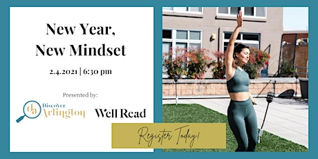 Discover Arlington x Well Read: New Year, New Mindset tickets