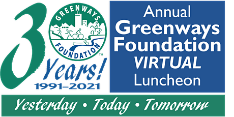 Annual Greenways Foundation Virtual Luncheon tickets