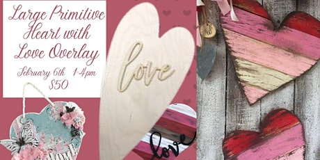 Primitive Love Heart tickets