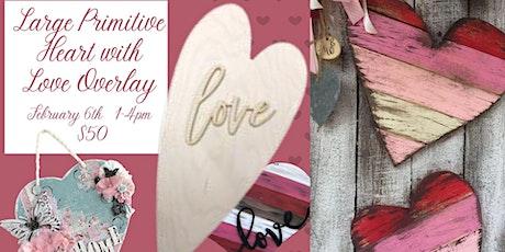 Primitive Love Heart tickets