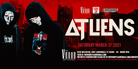 Atliens // 3.27 // The Venue tickets