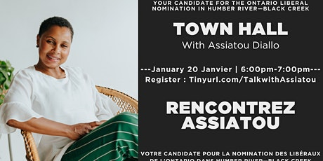 Talk with Assiatou Diallo - Humber River Black Creek tickets