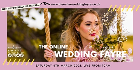 The Online Virtual Wedding Fayre - Spring Edition! tickets
