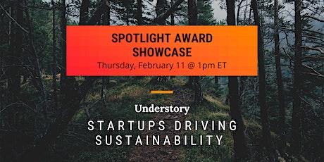 Startups Driving Sustainability - Spotlight Award Showcase tickets