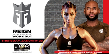 Reign Total Body Fuel Workout with Natalie Eva Marie tickets