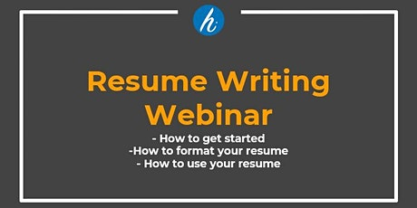 Resume Writing Best Practices tickets
