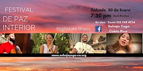 Festival de la Paz Interior - Concierto de Música &   Meditación boletos
