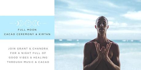 Full Moon Cacao Ceremony & Kirtan tickets
