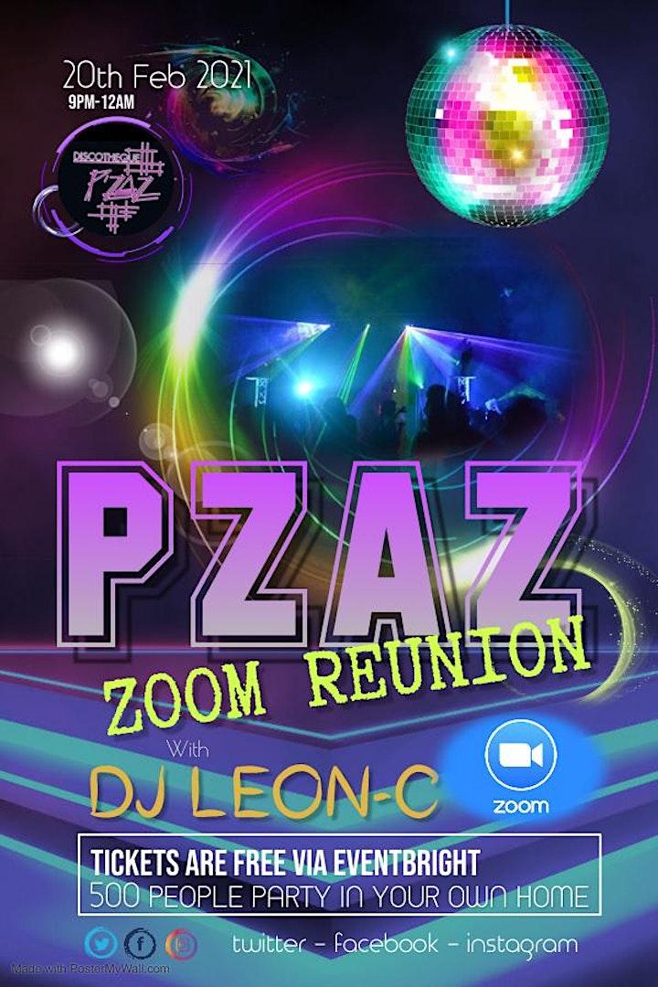PZAZ THE REUNION ZOOM PARTY image