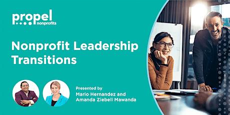 Nonprofit Leadership Transitions tickets