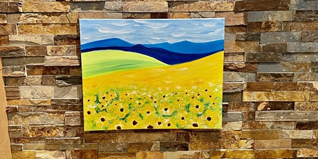 Flowers in the Field Painting Party tickets