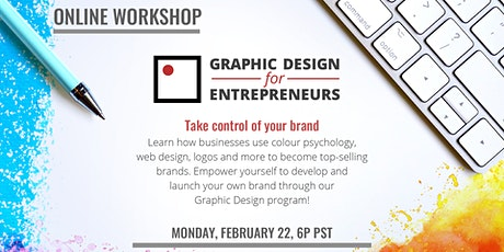Graphic Design for Entrepreneurs (Online Workshop) tickets