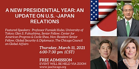 A New Presidential Year: An Update on U.S.-Japan Relations tickets