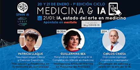 Ciclo webinars MEDICINA & IA. Día 2: IA y Estado del arte en medicina entradas