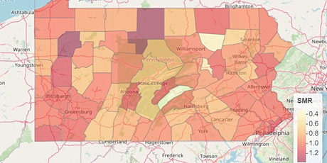 Disease Risk Modeling and Visualization using R tickets