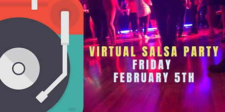Salseros Virtual Salsa  Party tickets