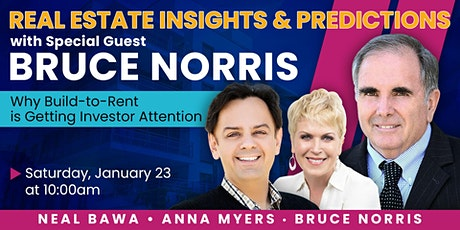 Real Estate Insights & Predictions with Bruce Norris tickets
