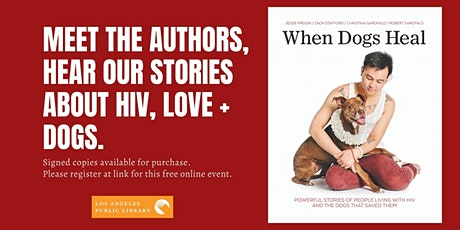 LA Library presents 'When Dogs Heal' Virtual Book Event w/ Wags + Walks tickets