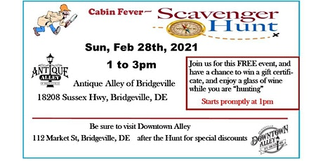 Cabin Fever Scavenger Hunt tickets